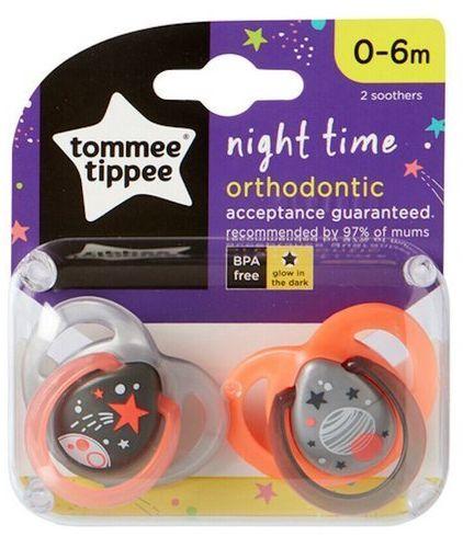 Smoczek Uspokajający Night Time 0-6 Tommee Tippee