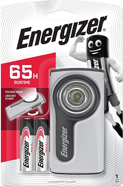 """Energizer latarka""Metal Compact LED"""", w zestawie baterie/632265"""