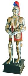 ZBROJA RYCERSKA 1:1 Z XVI w. ZŁOTY GRAWER zbroja rycerska (909)