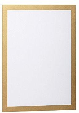Ramka magnetyczna samoprzylepna Duraframe A4 - złota / 2 szt.