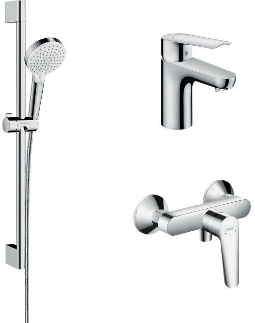 Zestaw prysznicowy Hansgrohe Logis E chrom