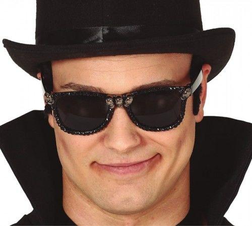 Okulary z czaszkami, męskie