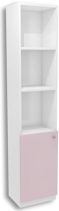 Biało-lawendowy regał dla dziewczynki Peny 12X - 4 kolory