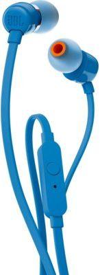 Przewodowe słuchawki dokanałowe JBL T110 Niebieski