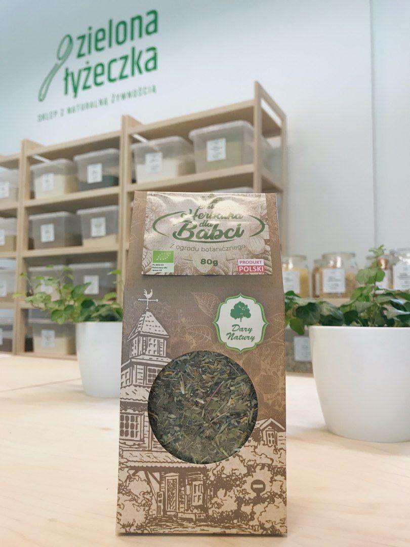 Ekologiczna herbatka dla Babci