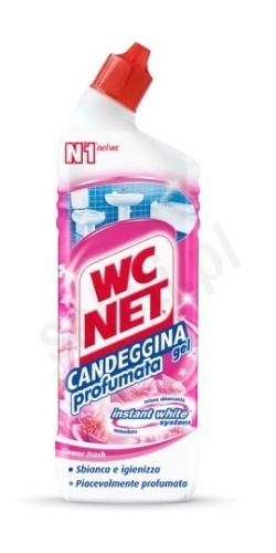 WC NET Candeggina - Kwiatowy wybielający żel do WC i armatury łazienkowej (700 ml)