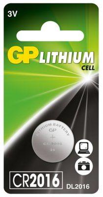 Bateria guzikowa GP CR2016-U1. > DARMOWA DOSTAWA ODBIÓR W 29 MIN DOGODNE RATY