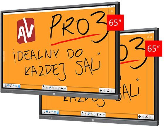 """Monitor Avtek TouchScreen 65"""" Pro3"""