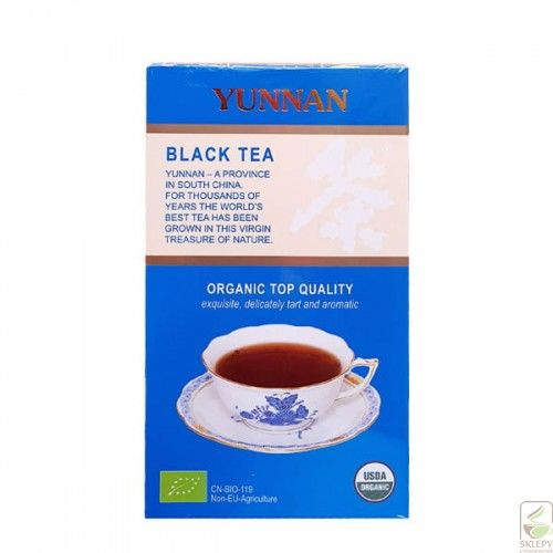 Yunnan Black Tea BIO EB-901 75g herbata liściasta