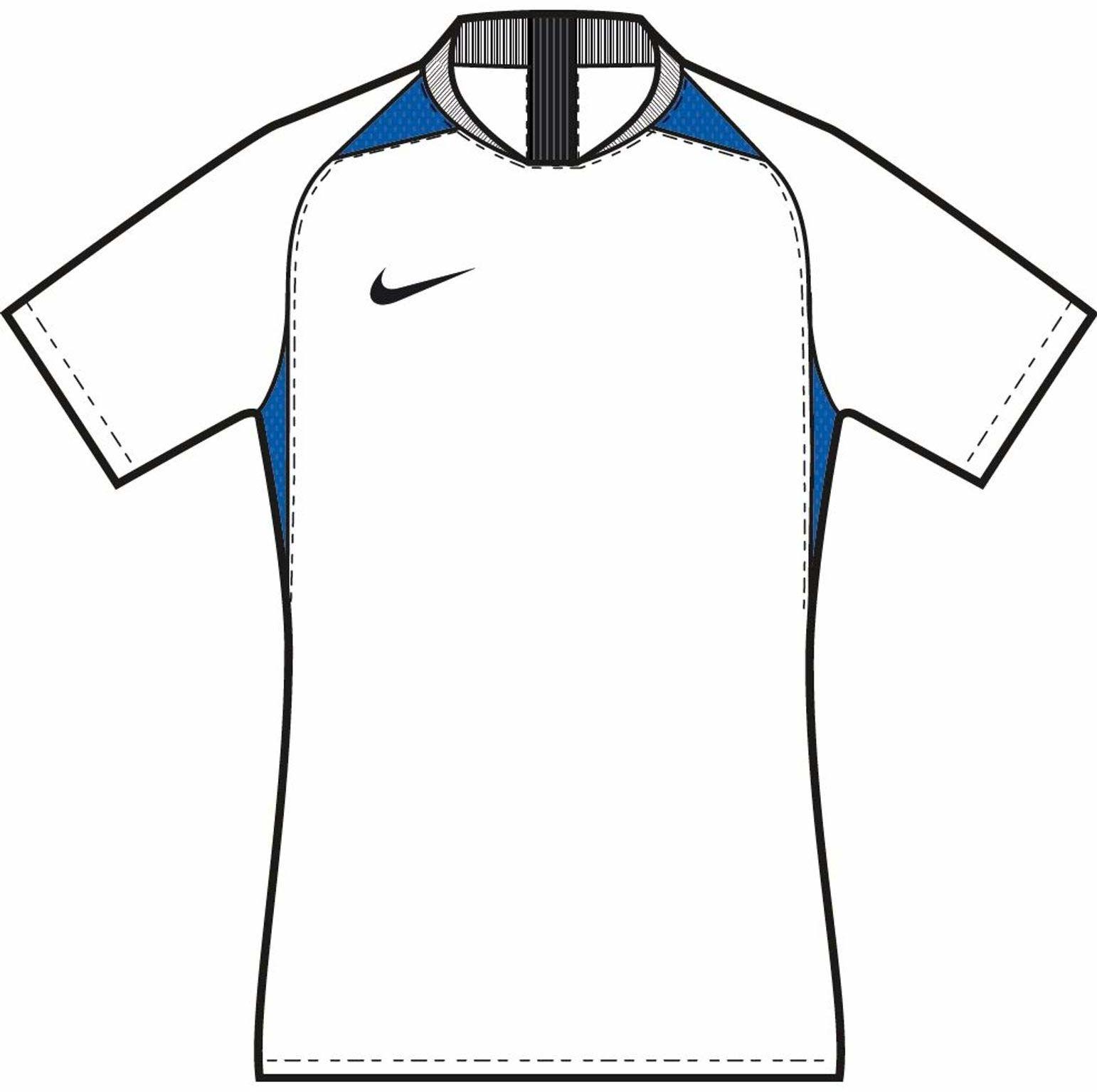 Nike uniseks koszulka legendowa dla dzieci S/S Jersey White/Royal Blue/Black/Black L