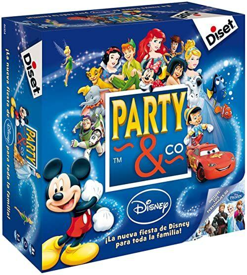 Diset - Disney Party Game, 27,2 x 26,7 x 8,9 (46504)