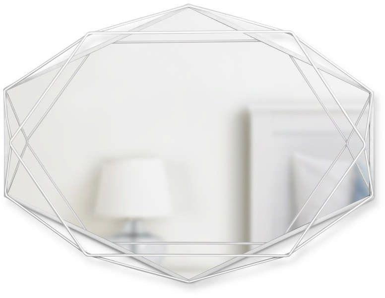 Umbra - lustro prisma, białe