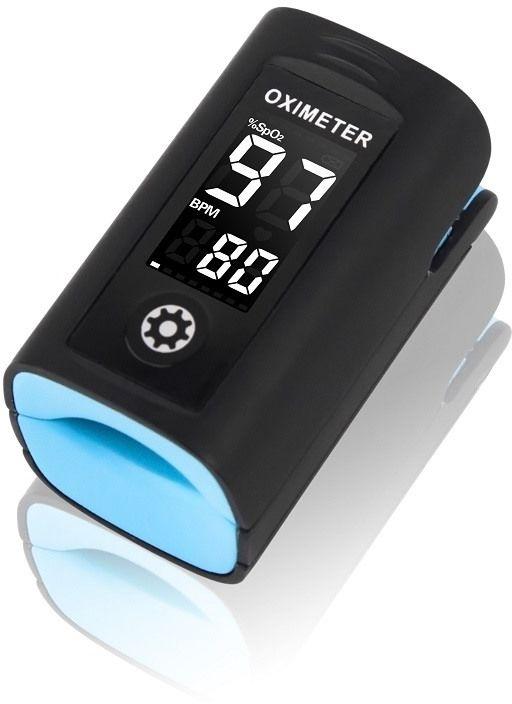 Pulsoksymetr Creative PC60A odporny na upadki i zachlapania, z systemem niwelującym wpływ ruchu na wynik pomiaru Move-Oxy &reg