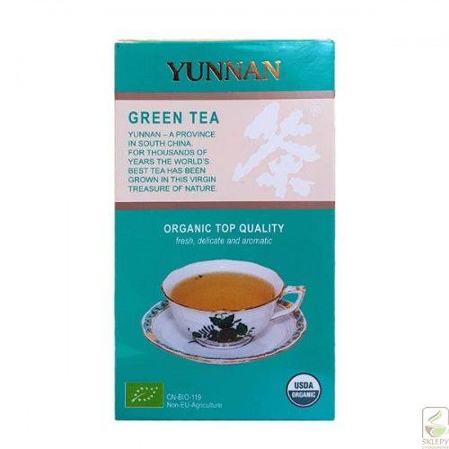 Yunnan Green Tea BIO EG-901 75g herbata liściasta