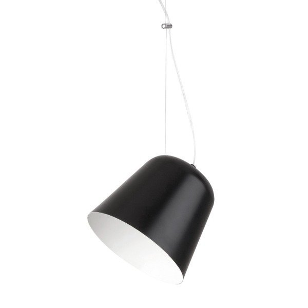 Lampa wisząca TIKET czarna 1 pkt