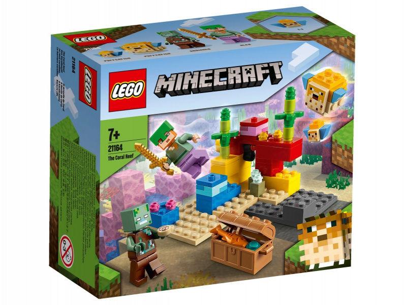 Klocki Minecraft 21164 Rafa koralowa