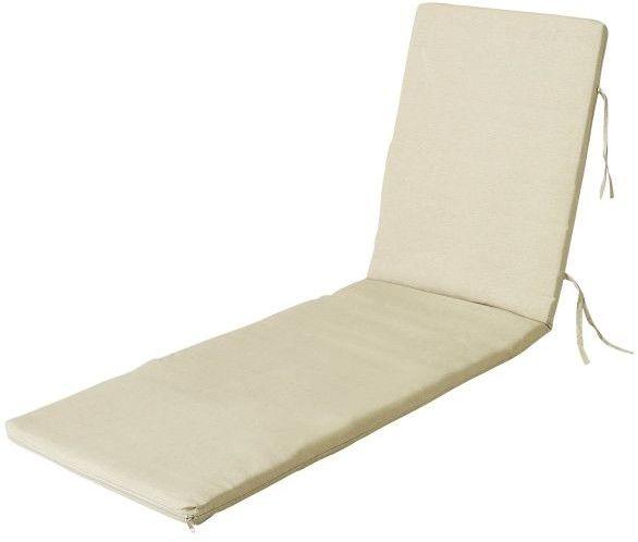 Poduszka na leżankę Cocos beżowa