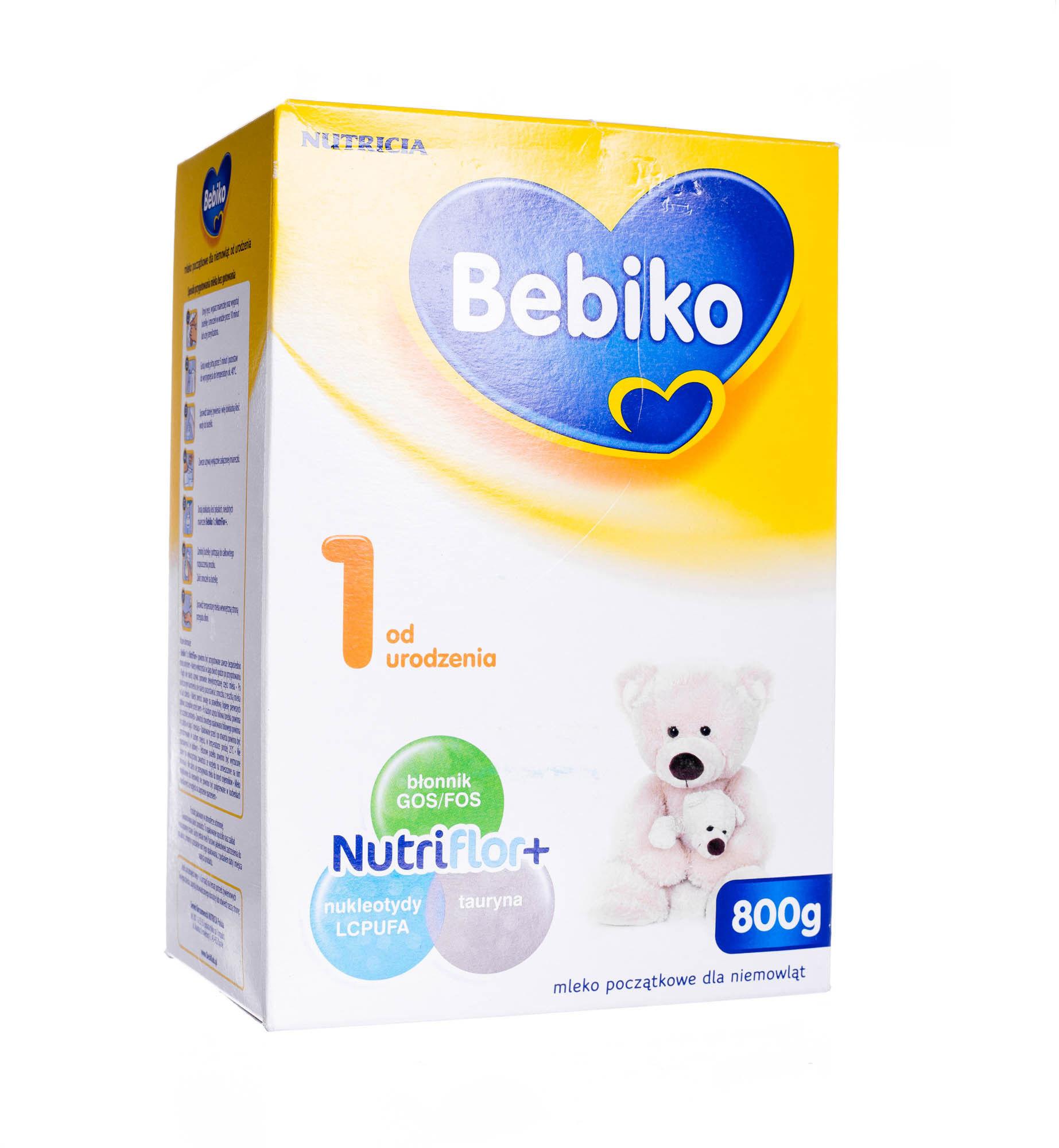 Bebiko 1 mleko początkowe od urodzenia proszek 800 g