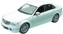 NewRay 71085  Mercedes Benz klasy C AMG, skala 1: 24, Cast, biały