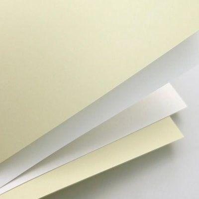 Papier ozdobny ARGO A4 250g Gładki Kremowy 20 Arkuszy /202802/