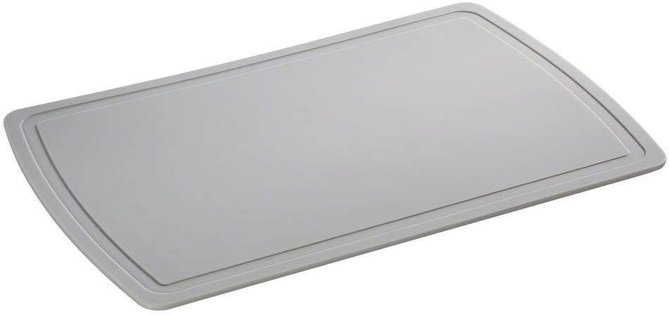Zassenhaus - easy cut plus - deska do krojenia, 38,00 cm, szara