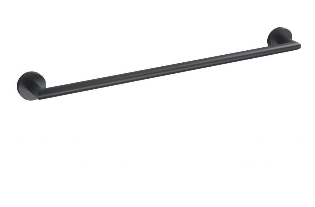 Stella Classic wieszak prosty 60 cm czarny 07.110-B