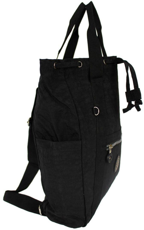 Praktyczny Plecak Torebka 2 w 1 BAG STREET 2247 CZARNY