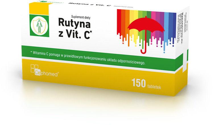 RUTYNA Z VIT.C, 150 tabl.