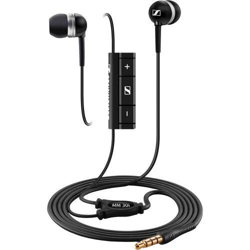 Słuchawki dokanałowe Sennheiser MM 30i, czarne