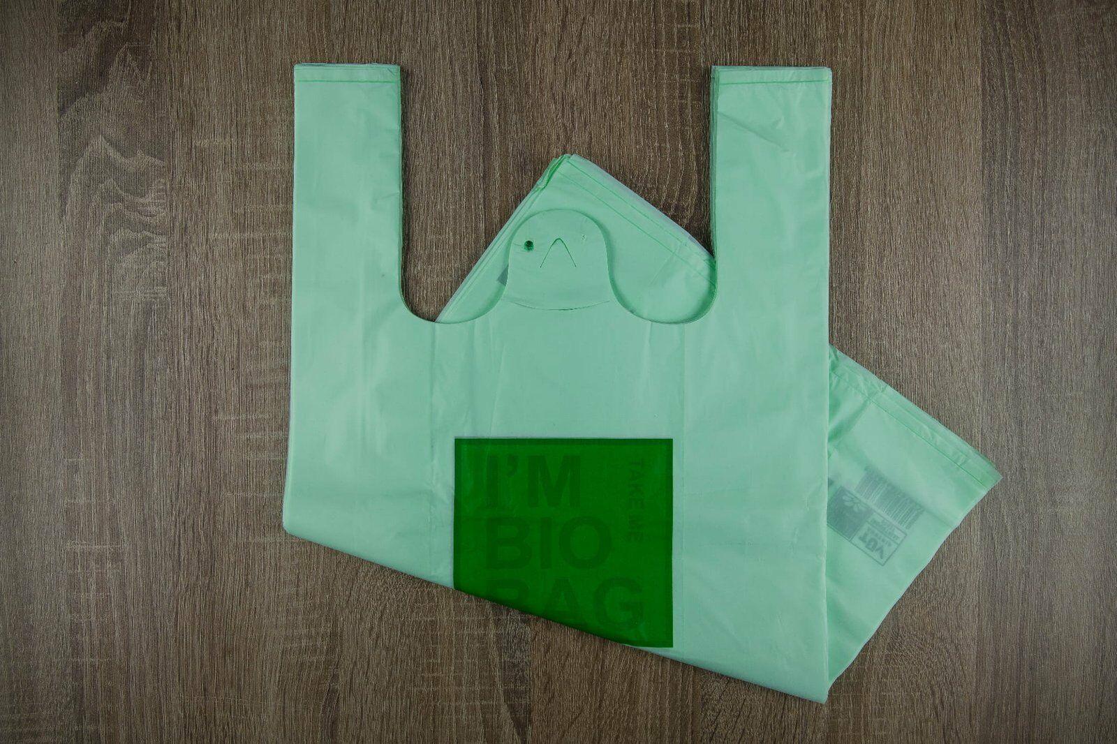 Reklamówki biodegradowalne GREEN 30X55 cm 50szt./op.