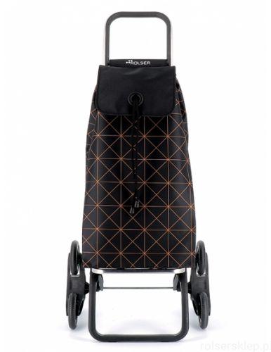 Wózek na zakupy Rolser Logic RD6 Star Mandarina SKŁADANY