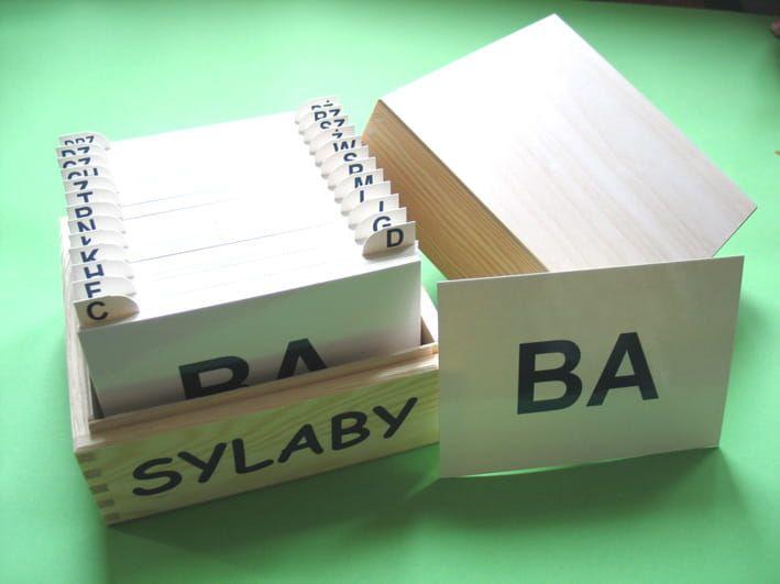 Sylaby- karty logopedyczne