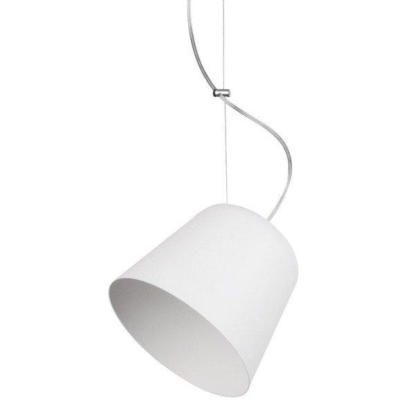 Lampa wisząca TIKET biała 1 pkt