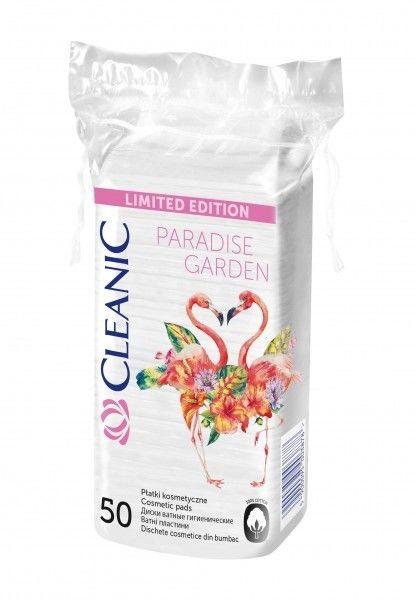 Cleanic Pure Effect płatki kosmetyczne 50 sztuk (kwadratowe)