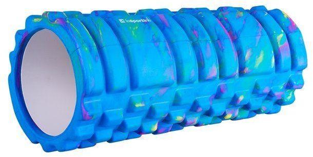 Wałek do jogi roller Lindero Insportline niebieski