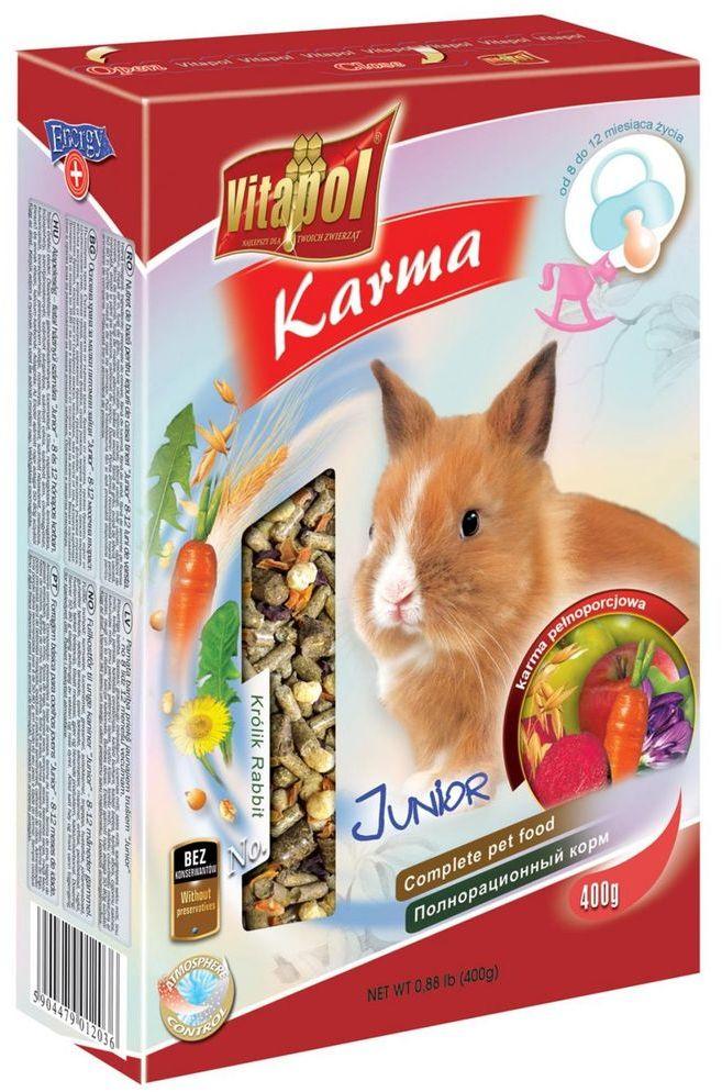 VITAPOL mieszanka JUNIOR dla królików