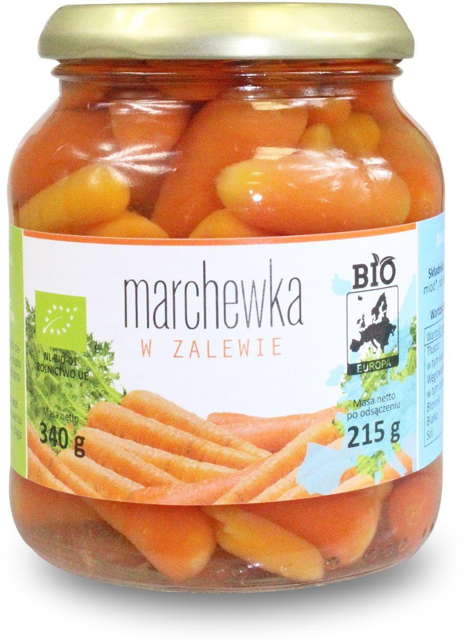 Marchewka w Zalewie BIO 215g - Bio Europa