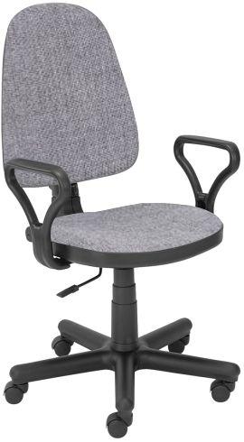 Fotel biurowy BRAVO C73 szary  Kupuj w Sprawdzonych sklepach