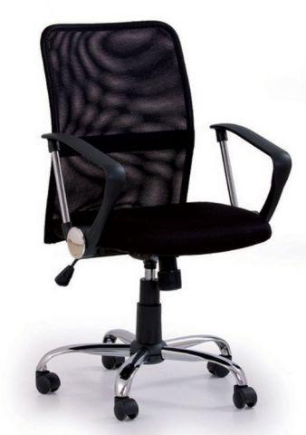 Fotel biurowy TONY czarny  Kupuj w Sprawdzonych sklepach