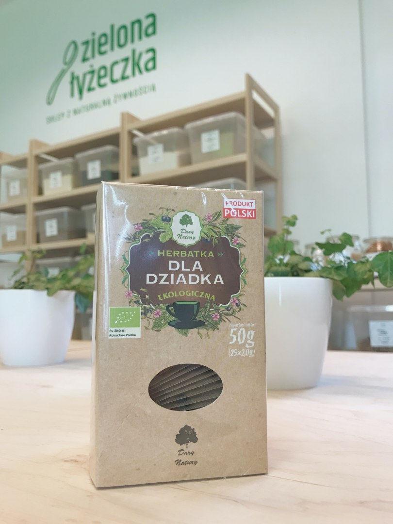 Ekologiczna herbatka dla Dziadka