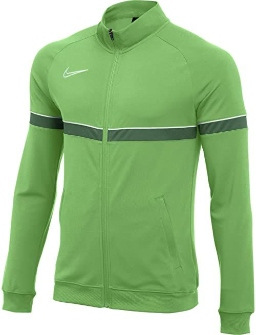 Nike Męska kurtka dresowa Dri-FIT Academy 21, Lt Green Spark/White/Pine Green/White, XL
