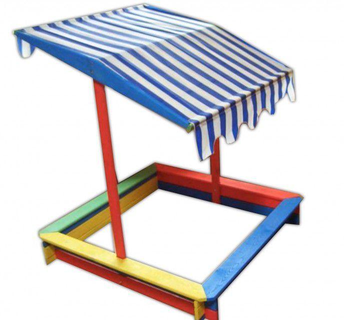 Piaskownica dla dzieci z dachem FSC