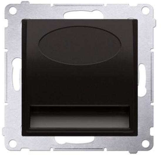 Simon 54 Oprawa oświetleniowa LED 230V antracyt DOS.01/48
