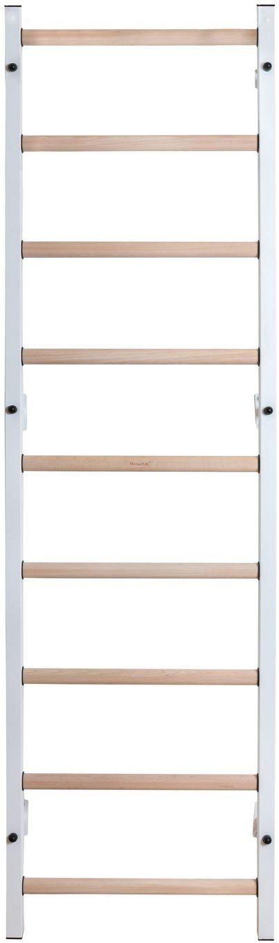 Drabinka gimnastyczna z drewnianymi szczebelkami 310W/710W BenchK 240 x 67 cm