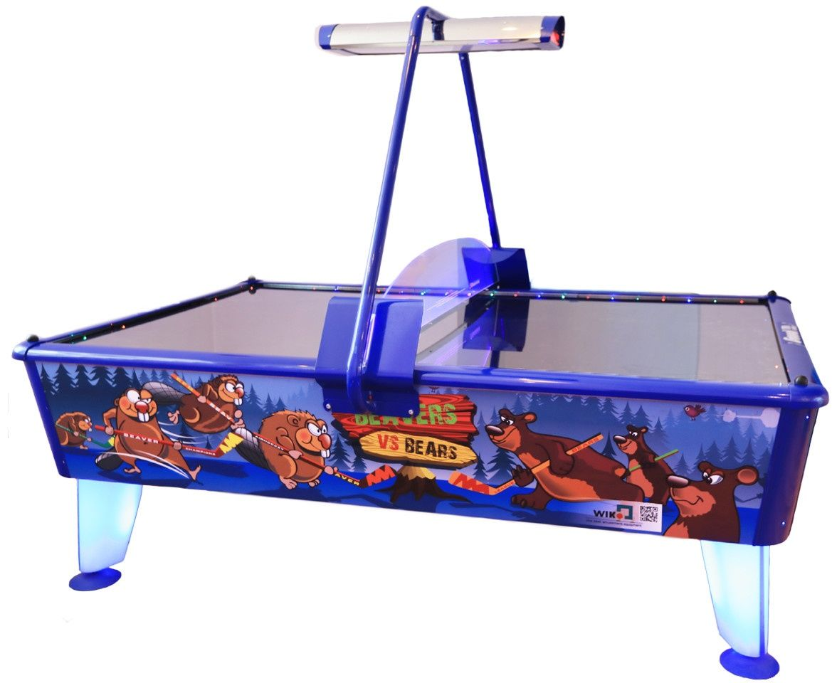 Air Hockey - Beavers vs Bears - dla 4 graczy