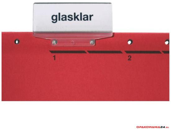 Skoroszyt zawieszany ALPHA czerwony Leitz 19840125