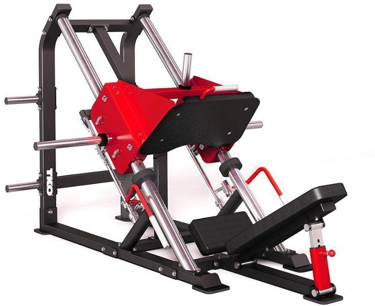 Maszyna do ćwiczeń dolnych partii mieśniowych Linear Leg Press 907PLLLP TKO