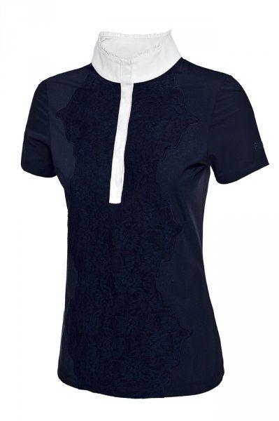 Koszulka konkursowa PIKEUR MALEA - dark navy