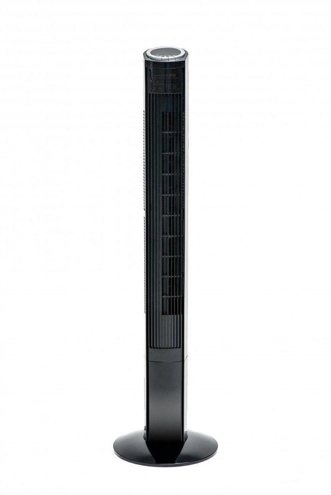 Wentylator kolumnowy Powermat Onyx Tower-120 90W z pilotem idealnie sprawdzi się w domu i biurze w sezonie letnim podczas wysokich temperatur