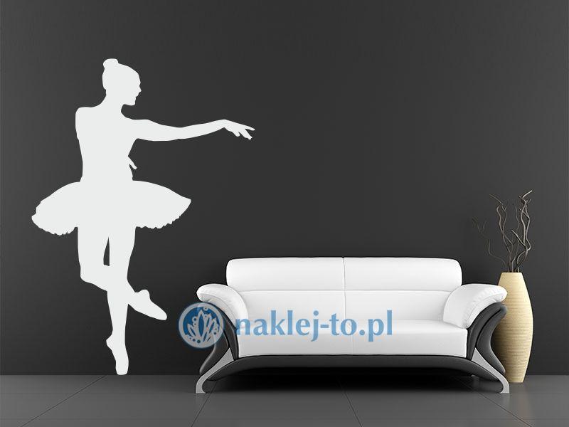 naklejka baletnica 3 naklejka na ścianę